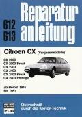 Citroën CX Vergasermodelle ab Herbst 1974 bis 1981