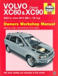 Volvo XC60 & XC90 2003 to June 2013 (52 to 13 registration) - Diesel