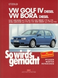 VW Golf IV Limousine 9/97-9/03, Golf IV Variant 5/99-5/06 DIESEL