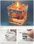 Kerzen ziehen und gießen - Gestalten mit Wachs