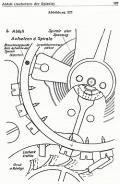 Grundriß vom Aufbau einer Uhr - Handbuch für den Uhrmacherlehrling