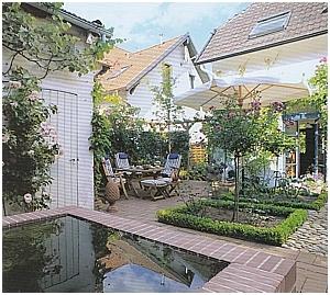 Andrea Christmann Kleine Gärten Gestalten Reihenhaus Vorgarten
