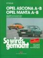 Opel Ascona/Manta A 8/70-8/75 Ascona B 8/75-8/81 Manta B 8/75-6/88