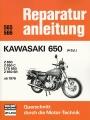Kawasaki 650 (4 Zyl) - Z 650 / Z 650 C / LTD 650 / Z 650 SR ab 1976