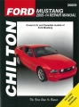 Ford Mustang 2005-2014 Repair Manual