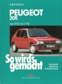 Peugeot 205 von 9/83 bis 7/96